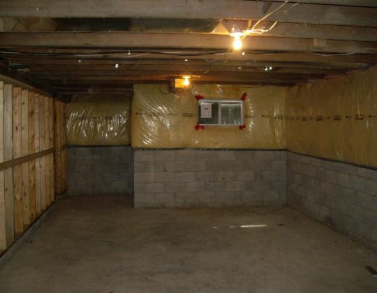 Blanket for Blanket insulation basement walls